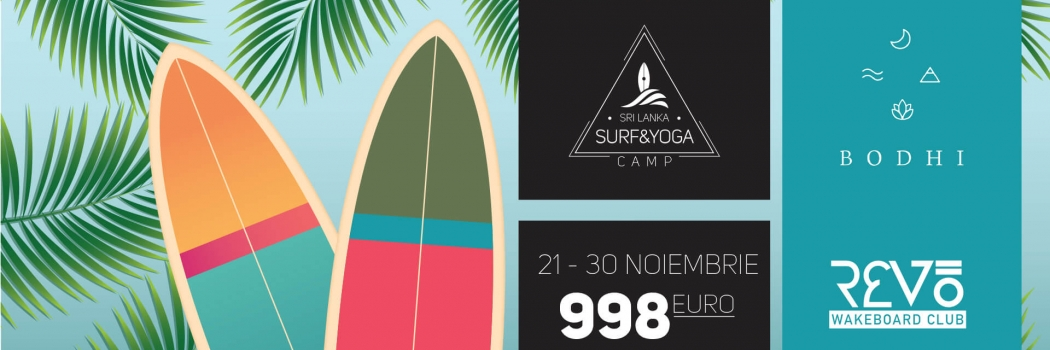 Surf & Yoga Camp – Sri Lanka